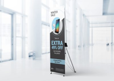 X-frame Banners Stand