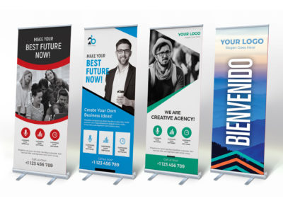 Standard Rollup Banners Stand